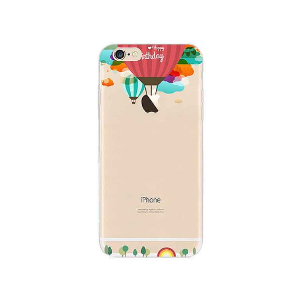 10% OFF + FREE SHIPPING, Buy PDair iPhone Soft Clear Case (Hydrogen Balloon Happy Birthday) which is available for iPhone 6 | iPhone 6s, iPhone 6 Plus | iPhone 6s Plus, iPhone 5 | iPhone 5s SE You also can go to the customizer to create your own stylish l