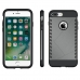 iPhone 7 Plus Hybrid Combo Aegis Armor Case Cover (Grey) protective carrying case by PDair