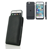 10% OFF + FREE SHIPPING, Buy PDair Quality Handmade Protective iPhone 6 | iPhone 6s in Official Smart Battery Case Genuine Leather Sleeve Pouch Case online You also can go to the customizer to create your own stylish leather case if looking for additional