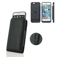 10% OFF + FREE SHIPPING, Buy Best PDair Handmade Protective iPhone 6 | iPhone 6s in Official Smart Battery Case Pouch Case with Belt Clip (Black Stitch) online. You also can go to the customizer to create your own stylish leather case if looking for addit