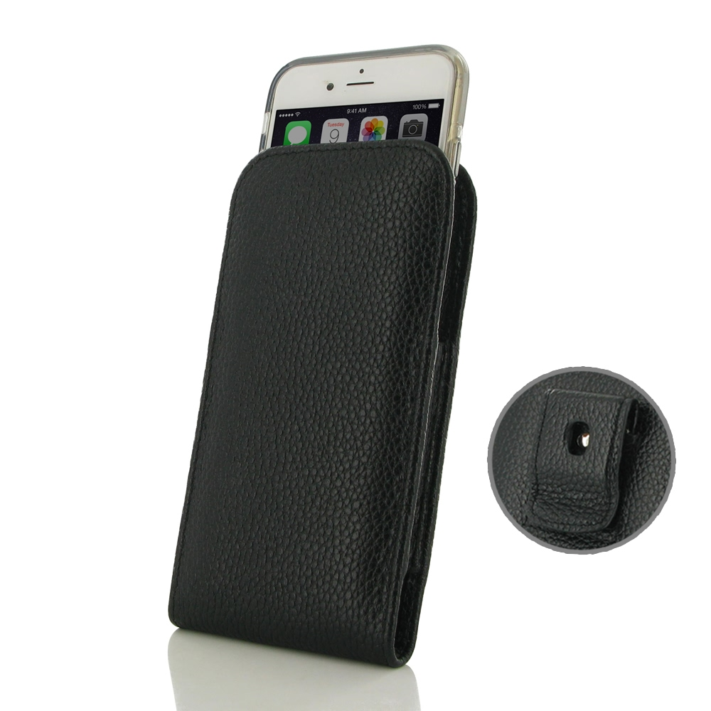10% OFF + FREE SHIPPING, Buy Best PDair Handmade Protective iPhone 6 | iPhone 6s (in Slim Cover) Pouch Clip Case (Black Stitching) online. You also can go to the customizer to create your own stylish leather case if looking for additional colors, patterns