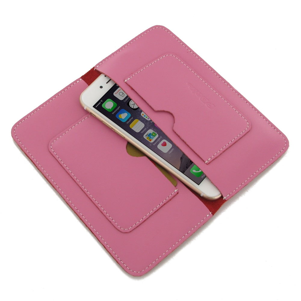 10% OFF + FREE SHIPPING, Buy Best PDair Quality Handmade Protective iPhone 6 | iPhone 6s Genuine Leather Sleeve Wallet (Petal Pink) online. Pouch Sleeve Wallet You also can go to the customizer to create your own stylish leather case if looking for additi
