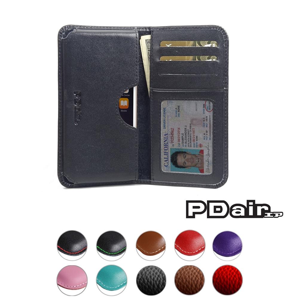 iphone 6 6s leather wallet sleeve case black stitch. Black Bedroom Furniture Sets. Home Design Ideas