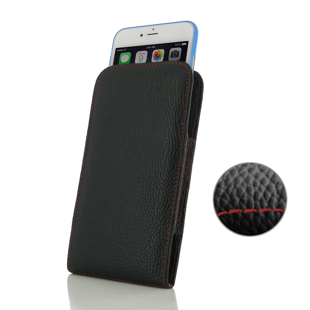 10% OFF + FREE SHIPPING, Buy Best PDair Handmade Protective iPhone 6 Plus   iPhone 6s Plus (in Slim Cover) Pouch Case (Red Stitching) online. You also can go to the customizer to create your own stylish leather case if looking for additional colors, patte