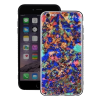 Natural Sea Shell Pattern Protective Fashion Case for Apple iPhone 6 Plus | iPhone 6s Plus (Colorful Pattern)