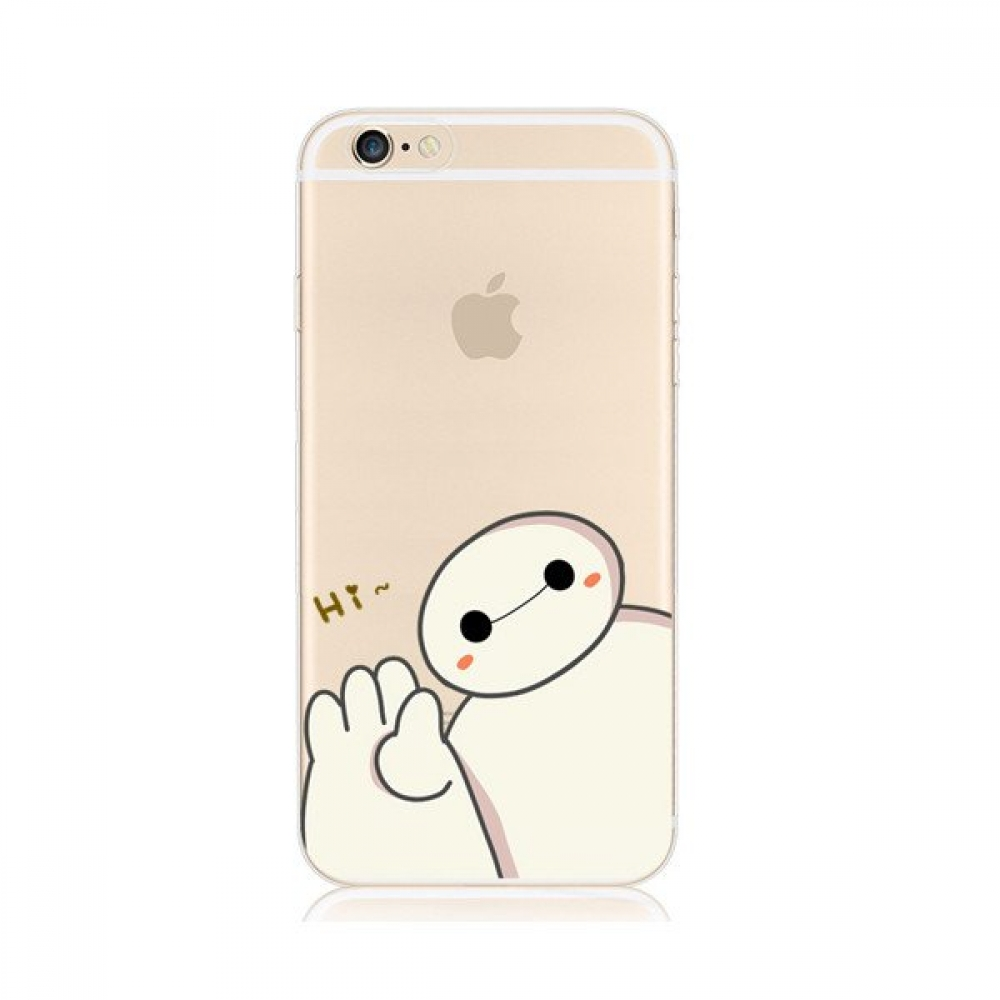 10% OFF + FREE SHIPPING, Buy PDair iPhone Pattern Printed Soft Clear Case Baymax Big Hero 6 Six which is available for iPhone 5 | iPhone 5s SE 6 6s, iPhone 6 Plus | iPhone 6s Plus. You also can go to the customizer to create your own stylish leather case