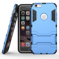 iPhone 6s 6 Plus SE 5s 5 Tough Armor Protective Case (Blue)