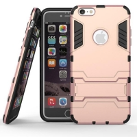 iPhone 6s 6 Plus SE 5s 5 Tough Armor Protective Case (Rose Pink)