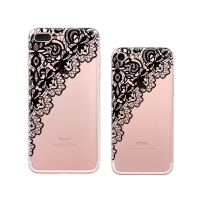 10% OFF + FREE SHIPPING, Buy Best PDair Top Quality iPhone Pattern Printed Soft Clear Case (Black Lace) which is available for iPhone 8, iPhone 8 plus,iPhone 7, iPhone 7 plus. You also can go to the customizer to create your own stylish leather case if lo
