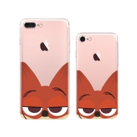 10% OFF + FREE SHIPPING, Buy Best PDair iPhone Pattern Printed Soft Clear Case (Cute Zootopia Nick Wilde) which is available for iPhone 8, iPhone 8 plus,iPhone 7, iPhone 7 plus. You also can go to the customizer to create your own stylish leather case if