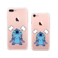 Disney Lilo & Stitch Cartoon iPhone 8 8 Plus | iPhone 7 7 PlusPattern Printed Soft Case