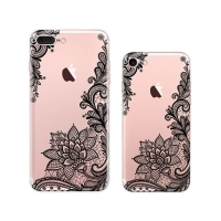 10% OFF + FREE SHIPPING, Buy Best PDair iPhone Pattern Printed Soft Clear Case (Mandala Hippie Pattern) which is available for iPhone 8, iPhone 8 plus,iPhone 7, iPhone 7 plus. You also can go to the customizer to create your own stylish leather case if lo