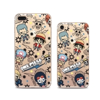 One Piece Pattern iPhone 8 8 Plus | iPhone 7 | iPhone 7 PlusPattern Printed Soft Case