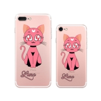 Sailor Moon Luna Cat (Pink) iPhone 8 8 Plus | iPhone 7 | iPhone 7 PlusPattern Printed Soft Case
