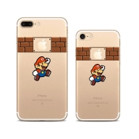 10% OFF + FREE SHIPPING, Buy Best PDair Top Quality iPhone Pattern Printed Soft Clear Case (Super Mario) which is available for iPhone 8, iPhone 8 plus,iPhone 7, iPhone 7 plus. You also can go to the customizer to create your own stylish leather case if l