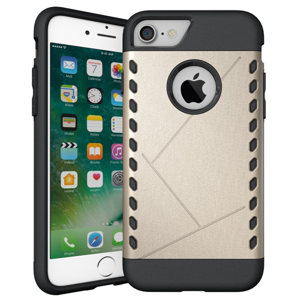 10% OFF + FREE SHIPPING, Buy Best PDair Premium Protective iPhone 7 Hybrid Combo Aegis Armor Case Cover (Gold) online.. Designed for iPhone 7. You also can go to the customizer to create your own stylish leather case if looking for additional colors, patt
