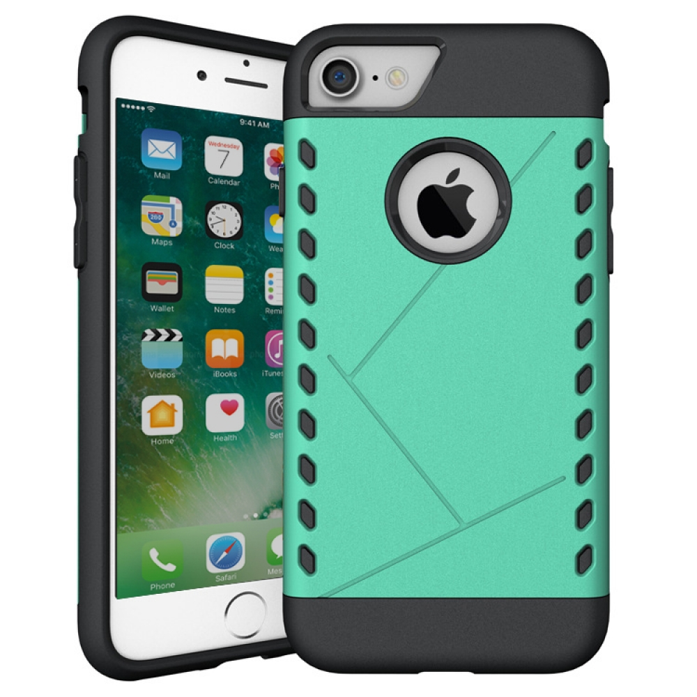 10% OFF + FREE SHIPPING, Buy Best PDair Premium Protective iPhone 7 Hybrid Combo Aegis Armor Case Cover (Green) online.. Designed for iPhone 7. You also can go to the customizer to create your own stylish leather case if looking for additional colors, pat