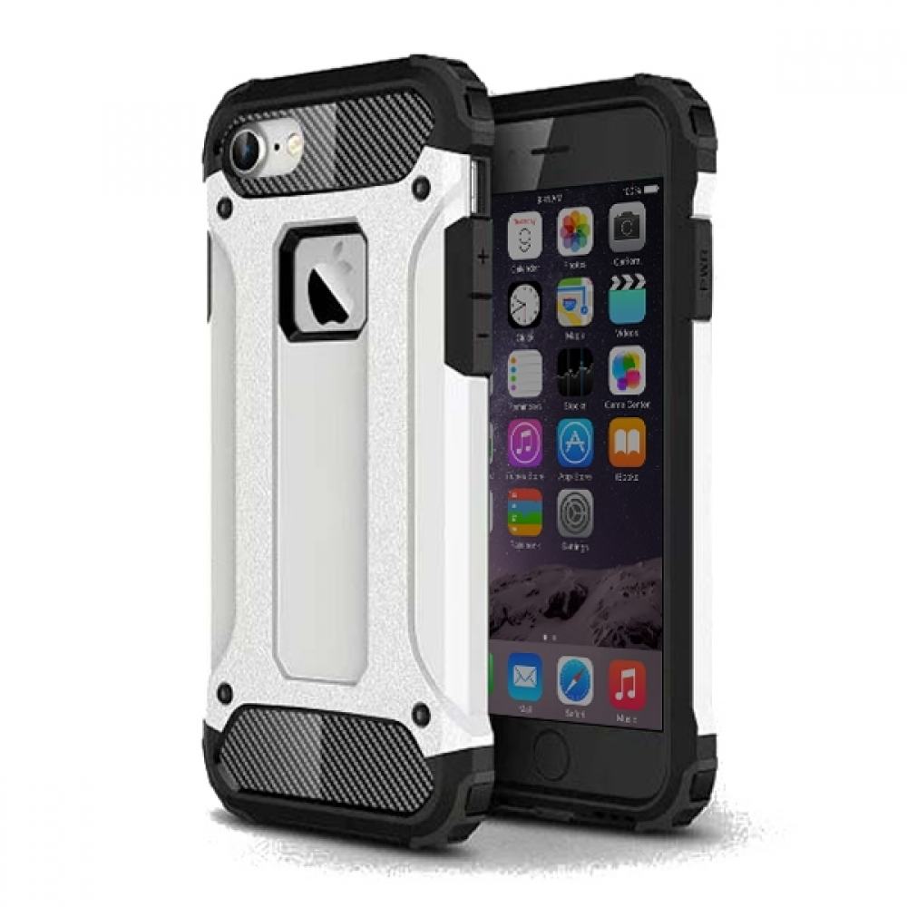 10% OFF + FREE SHIPPING, Buy Best PDair Top Quality iPhone 7 Hybrid Dual Layer Tough Armor Protective Case (White) online. Designed for iPhone 7. You also can go to the customizer to create your own stylish leather case if looking for additional colors, p