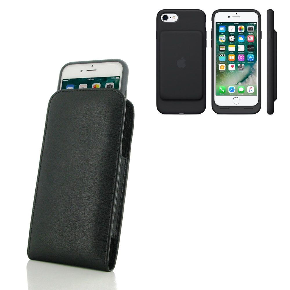 10% OFF + FREE SHIPPING, Buy PDair Quality Handmade Protective iPhone 7 in Official Smart Battery Case Genuine Leather Sleeve Pouch Case online You also can go to the customizer to create your own stylish leather case if looking for additional colors, pat
