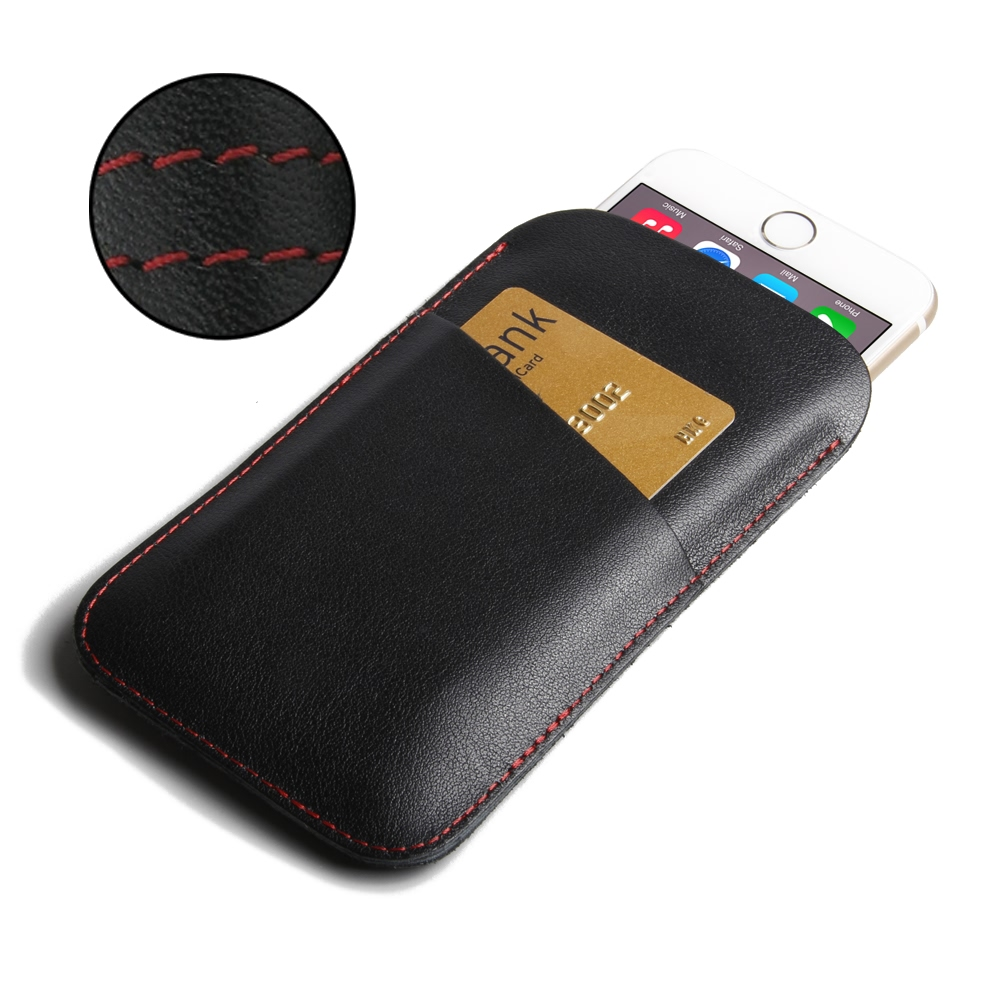 10% OFF + FREE SHIPPING, Buy Best PDair Handmade Protective iPhone 7 Genuine Leather Card Holder Case (Red Stitch) online. Pouch Sleeve Holster Wallet You also can go to the customizer to create your own stylish leather case if looking for additional colo