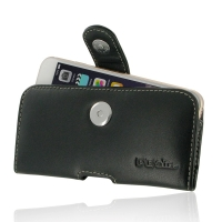 Leather Horizontal Pouch Case with Belt Clip for Apple iPhone 7