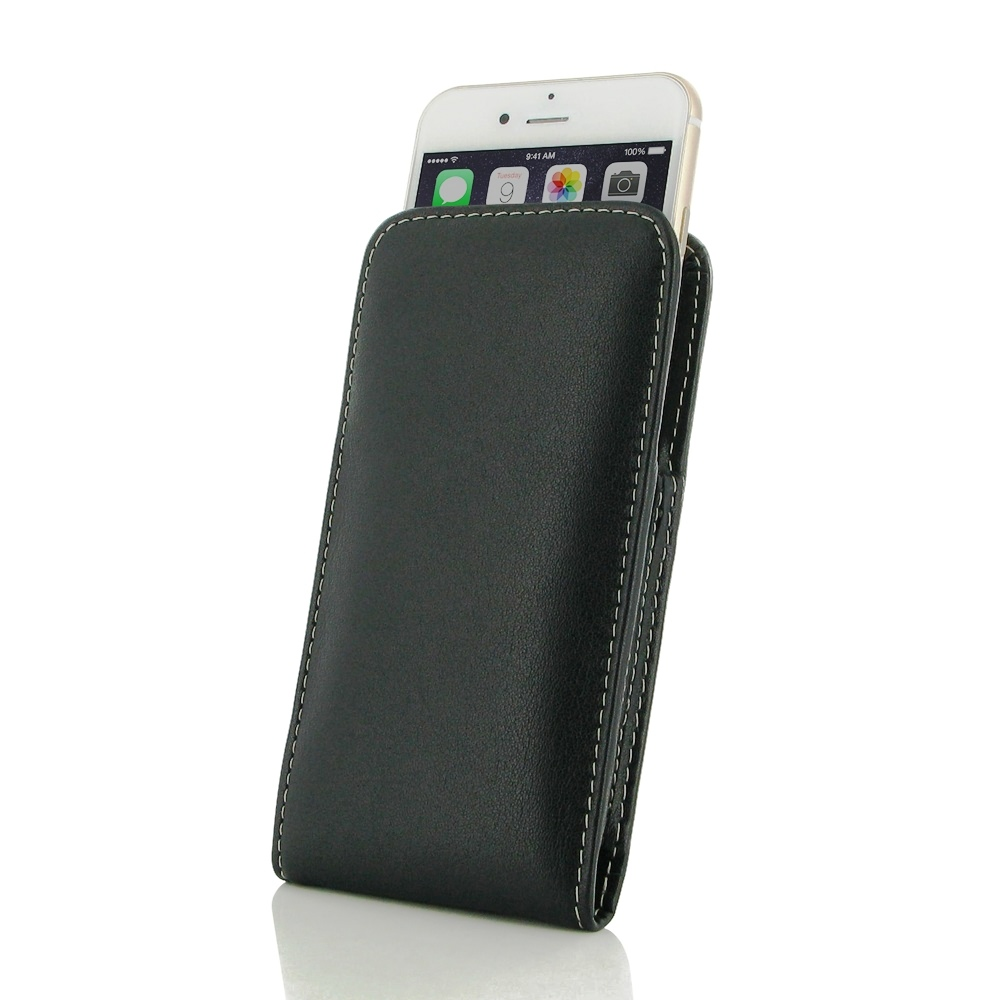 iPhone 7 Leather Sleeve Pouch Case PDair Premium Hadmade Genuine Leather Protective Case Sleeve Wallet