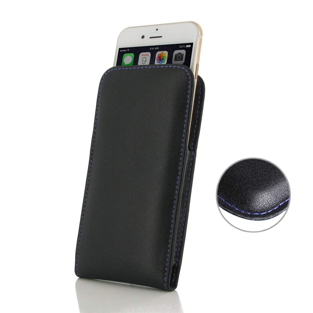 10% OFF + FREE SHIPPING, Buy Best PDair Quality Handmade Protective iPhone 7 Genuine Leather Sleeve Pouch Case (Purple Stitch) online. You also can go to the customizer to create your own stylish leather case if looking for additional colors, patterns and