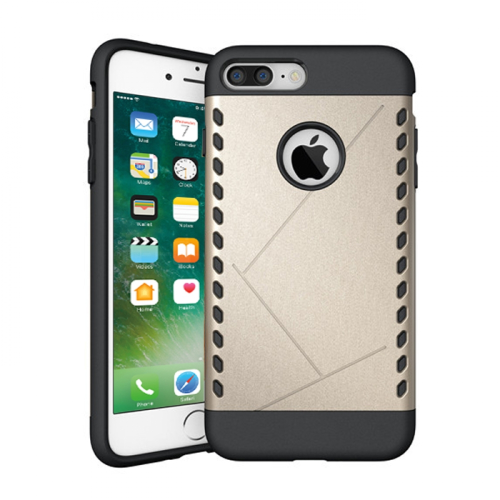 10% OFF + FREE SHIPPING, Buy Best PDair Protective iPhone 7 Plus Hybrid Combo Aegis Armor Case Cover (Gold) online.. Designed for iPhone 7 Plus. You also can go to the customizer to create your own stylish leather case if looking for additional colors, pa