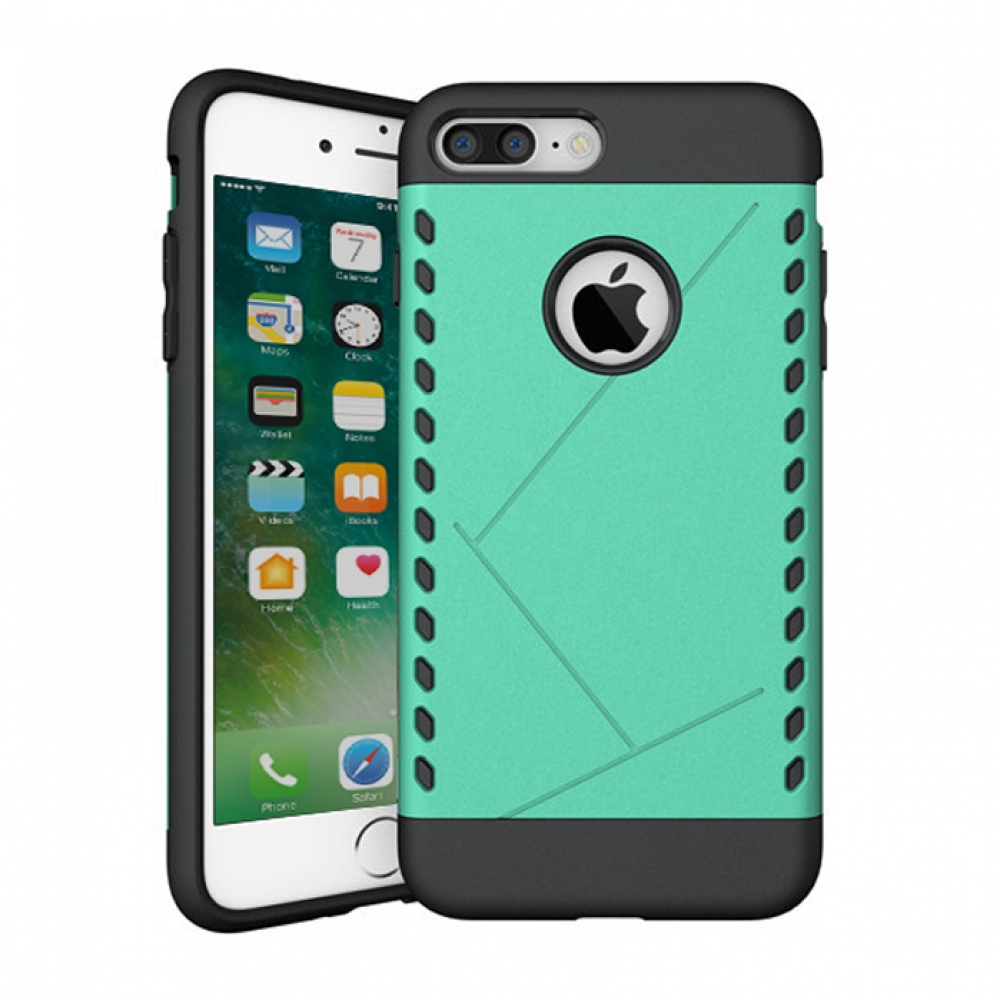 10% OFF + FREE SHIPPING, Buy Best PDair Protective iPhone 7 Plus Hybrid Combo Aegis Armor Case Cover (Green) online.. Designed for iPhone 7 Plus. You also can go to the customizer to create your own stylish leather case if looking for additional colors, p