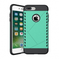 Hybrid Combo Aegis Armor Case Cover for Apple iPhone 7 Plus (Green)