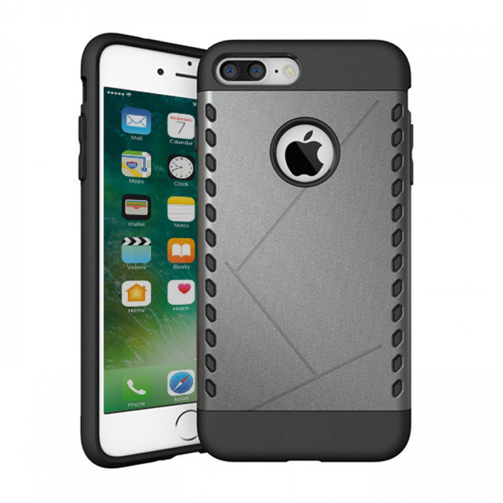 10% OFF + FREE SHIPPING, Buy Best PDair Protective iPhone 7 Plus Hybrid Combo Aegis Armor Case Cover (Grey) online.. Designed for iPhone 7 Plus. You also can go to the customizer to create your own stylish leather case if looking for additional colors, pa