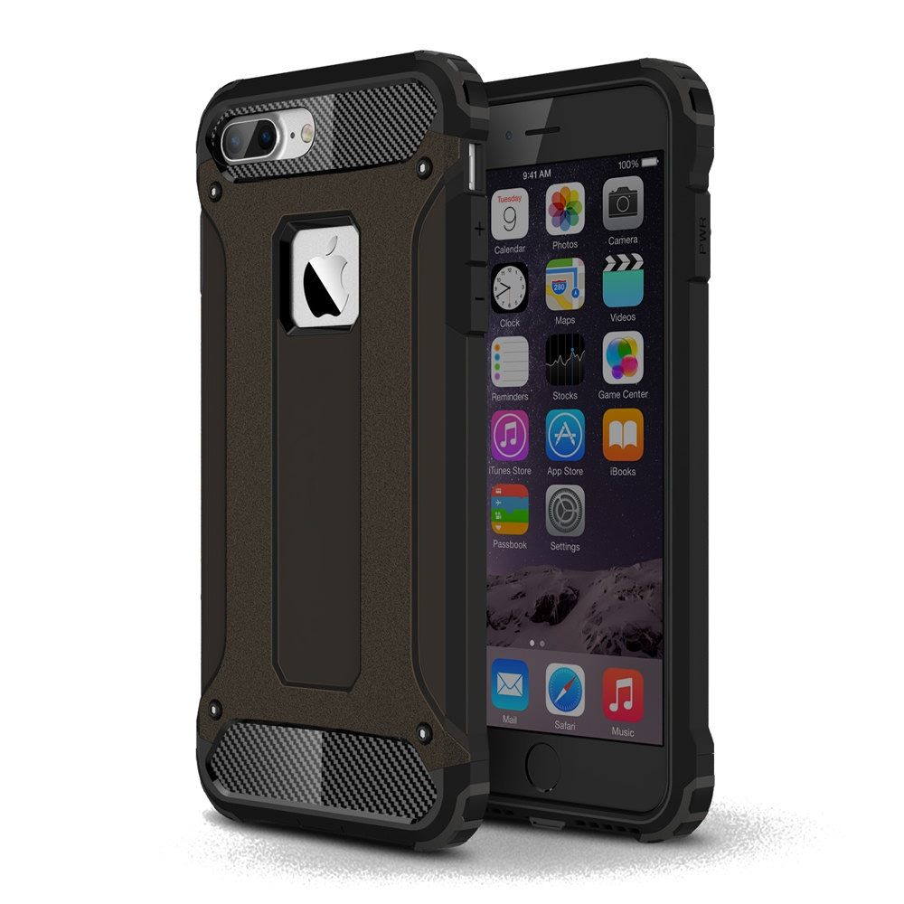 10% OFF + FREE SHIPPING, Buy Best PDair Top Quality iPhone 7 Plus Hybrid Dual Layer Tough Armor Protective Case (Black) online. Designed for iPhone 7 Plus. You also can go to the customizer to create your own stylish leather case if looking for additional