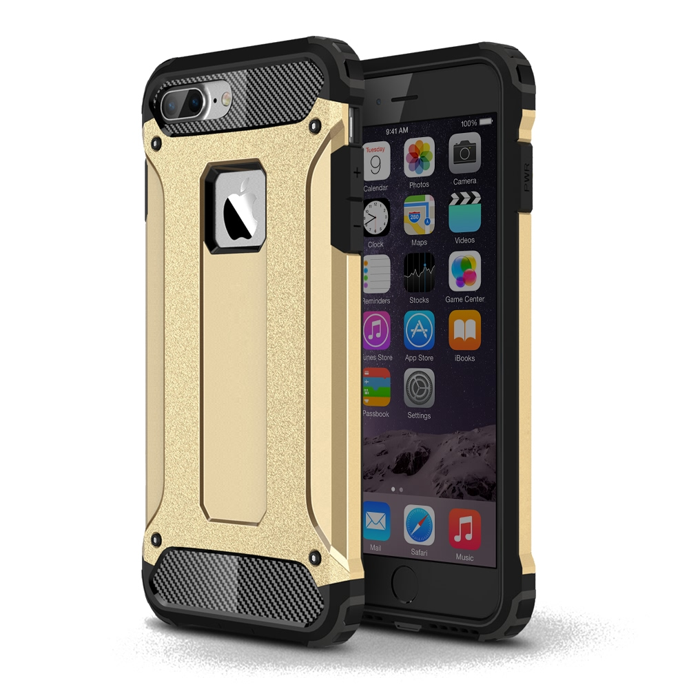 10% OFF + FREE SHIPPING, Buy Best PDair Top Quality iPhone 7 Plus Hybrid Dual Layer Tough Armor Protective Case (Gold) online. Designed for iPhone 7 Plus. You also can go to the customizer to create your own stylish leather case if looking for additional