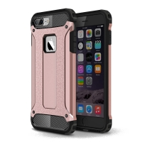 iPhone 7 Plus Hybrid Dual Layer Tough Armor Case (Rose Gold) :: PDair