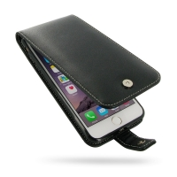 iPhone 7 Plus Leather Flip Wallet Case PDair Premium Hadmade Genuine Leather Protective Case Sleeve Wallet