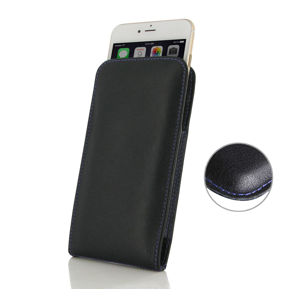 10% OFF + FREE SHIPPING, Buy Best PDair Quality Handmade Protective iPhone 7 Plus Genuine Leather Sleeve Pouch Case (Purple Stitch) online. You also can go to the customizer to create your own stylish leather case if looking for additional colors, pattern