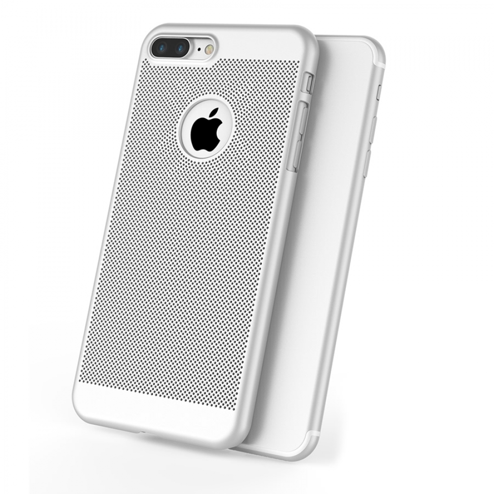 10% OFF + FREE SHIPPING, Buy Best PDair iPhone 7 Plus Ultra Slim Shockproof Premium Matte Finish Mesh Hard Case (Silver) online. Designed for iPhone 7 Plus. You also can go to the customizer to create your own stylish leather case if looking for additiona
