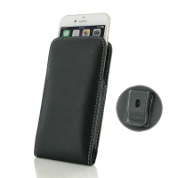 Leather Vertical Pouch Belt Clip Case for Apple iPhone 7