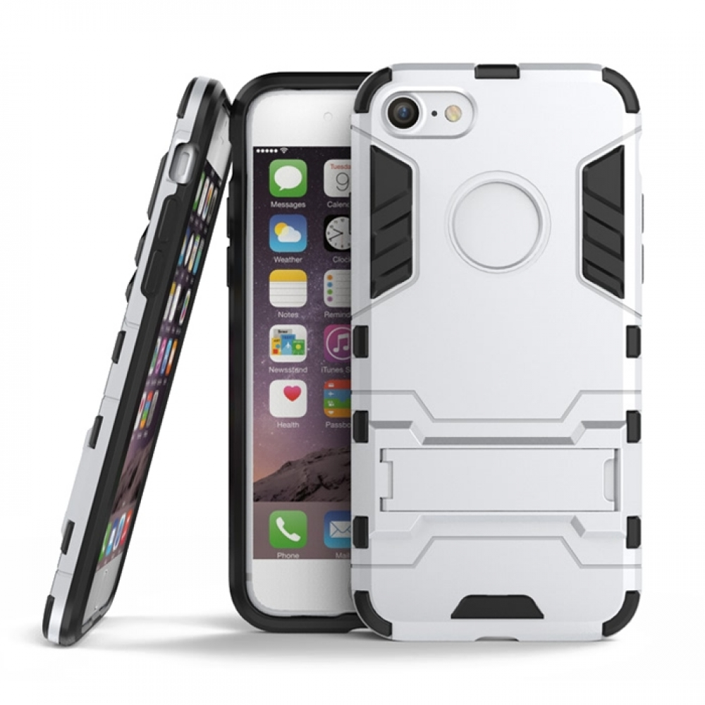 10% OFF + FREE SHIPPING, Buy Best PDair Top Quality iPhone 7 Tough Armor Protective Case (Silver) online. Exquisitely designed engineered for iPhone 7. You also can go to the customizer to create your own stylish leather case if looking for additional col
