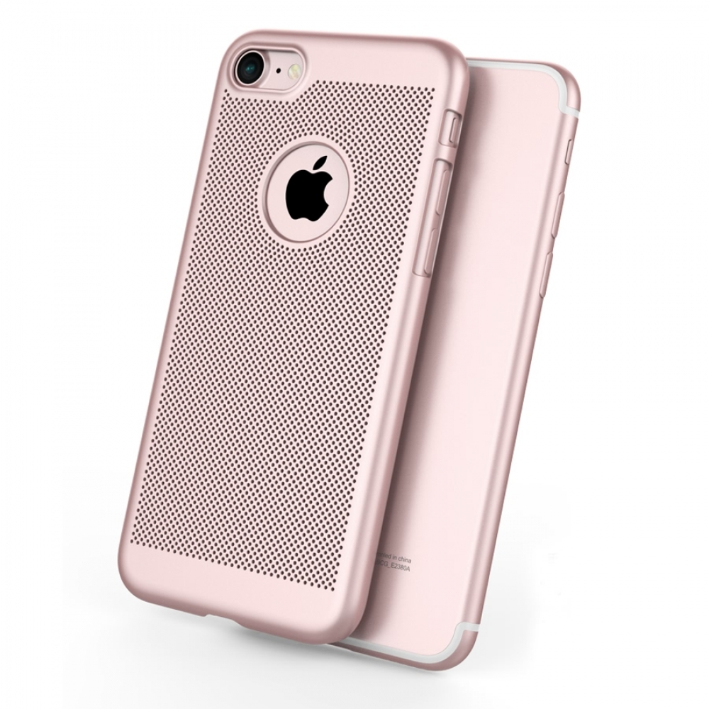 10% OFF + FREE SHIPPING, Buy Best PDair iPhone 7 Ultra Slim Shockproof Premium Matte Finish Mesh Hard Case (Rose Gold) online. Designed for iPhone 7. You also can go to the customizer to create your own stylish leather case if looking for additional color
