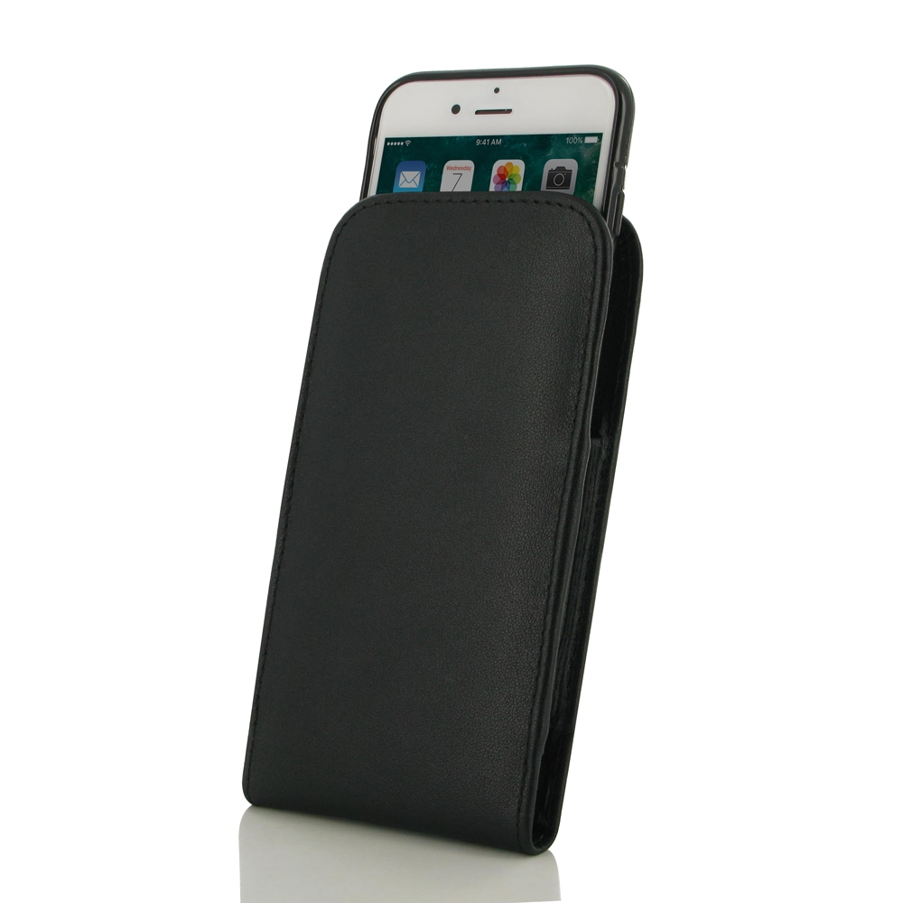 10% OFF + FREE SHIPPING, Buy Best PDair Handmade Protective iPhone 8 (in Slim Cover) Leather Pouch Case (Black Stitch).  You also can go to the customizer to create your own stylish leather case if looking for additional colors, patterns and types.