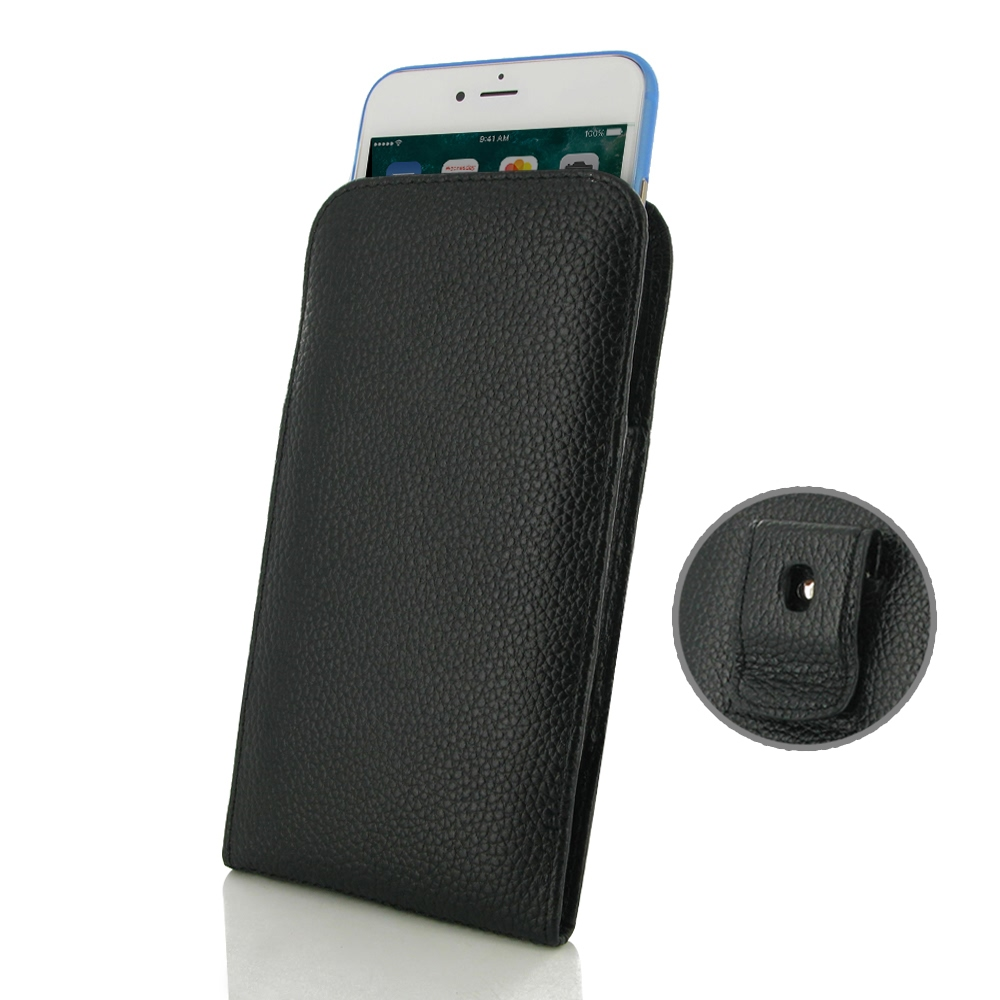 10% OFF + FREE SHIPPING, Buy Best PDair Handmade Protective iPhone 8 (in Slim Cover) Pouch Clip Case (Black Stitching).  You also can go to the customizer to create your own stylish leather case if looking for additional colors, patterns and types.