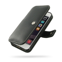 Leather Book Case for Apple iPhone 8
