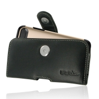 Leather Horizontal Pouch Case with Belt Clip for Apple iPhone 8 Plus  (in Large Size Armor Protective Case Cover)