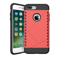 Hybrid Combo Aegis Armor Case Cover for Apple iPhone 8 Plus (Pink)