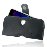 Leather Horizontal Pouch Case with Belt Clip for Apple iPhone 8 Plus (in Slim Case/Cover)