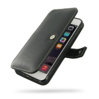 Leather Book Case for Apple iPhone 8 Plus