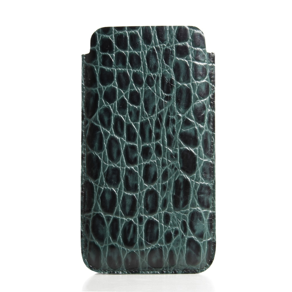 10% OFF + FREE SHIPPING, Buy Best PDair Handmade Protective iPhone 8 Plus Genuine Leather Sleeve Case (Green Crocodile Pattern) online. You also can go to the customizer to create your own stylish leather case if looking for additional colors, patterns an