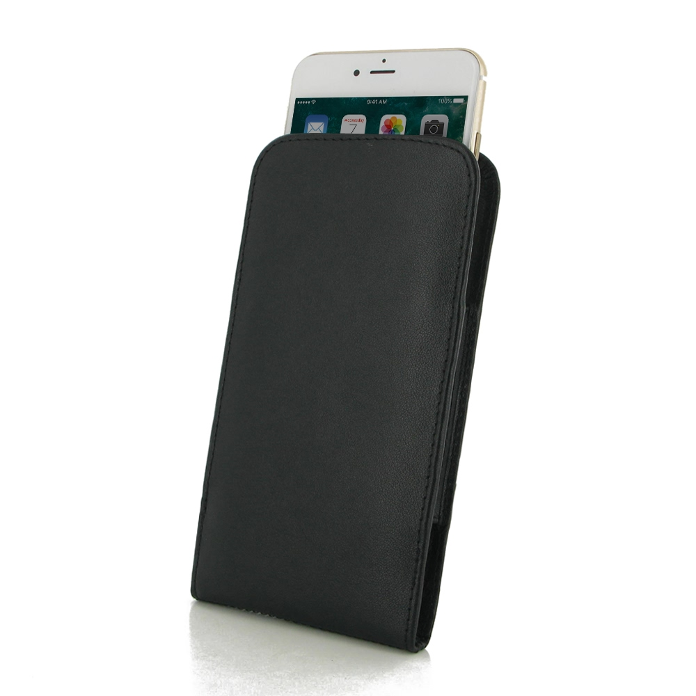 10% OFF + FREE SHIPPING, Buy Best PDair Quality Handmade Protective iPhone 8 Plus Genuine Leather Sleeve Pouch Case (Black Stitch) online. You also can go to the customizer to create your own stylish leather case if looking for additional colors, patterns