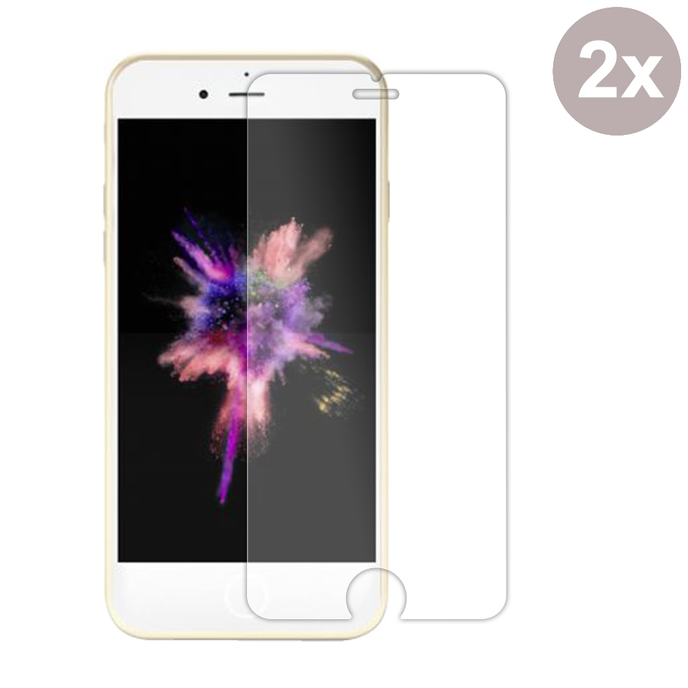Premium Tempered Glass Film Screen Protector for Apple iPhone 8 (Pack of 2pcs)